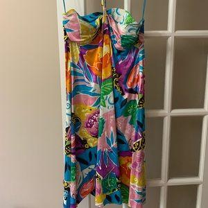 Silk Ralph Lauren summer dress